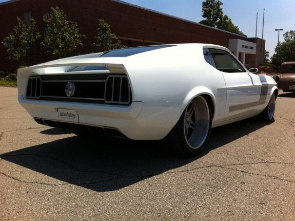 1971 Ford Mustang Goolsby Customs