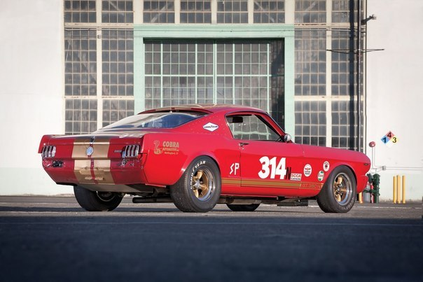 1966 Mustang Shelby GT350H Race Car