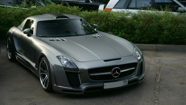 Mercedes-Benz SLS AMG by FAB Design Gullstream