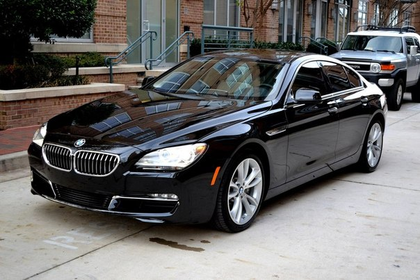 "BMW 6-Series Gran Coupe ""640i"""