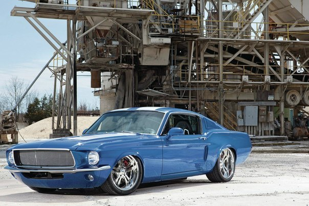 1967 Ford Mustang hotrod