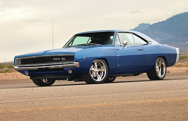1968 Dodge Charger Hot Rod