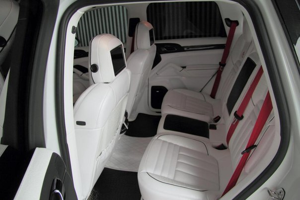 Porsche Cayenne White Edition от Anderson Germany