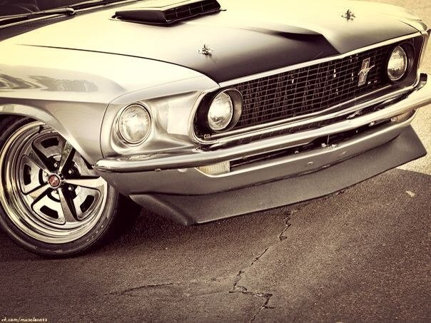 Ford Mustang 1969'