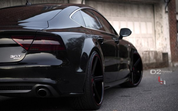 Audi A7 With Deep Concave CV2 Wheels By D2FORGED