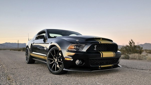 Ford Mustang Shelby GT500 Super Snake 50th Anniversary, 2012