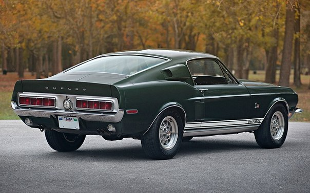 Ford Mustang Shelby GT500 KR (1968)