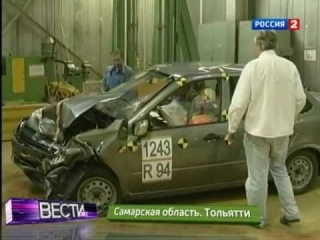 Краш тест Лада Гранта / Crash Test Lada Granta