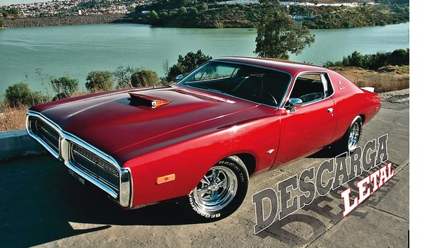"Dodge Charger SE 1972 ""Descarga letal"""