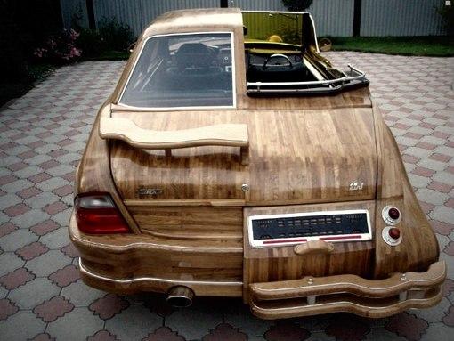 Авто из дерева своими руками