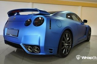Nissan GTR - Electric Blue