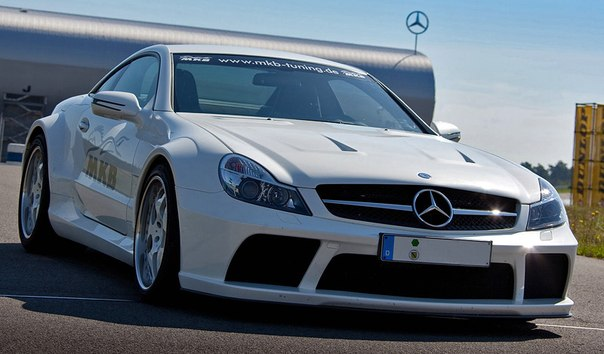 Mercedes-Benz SL 65 AMG Black Series MKB P1000, 2011