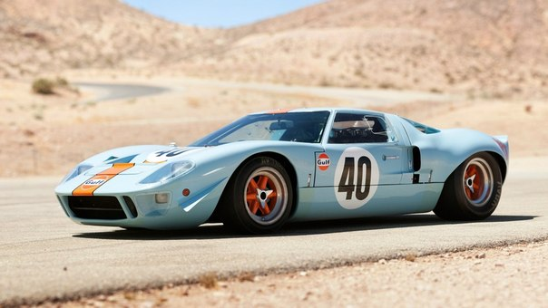 "Ford GT40  Gulf Oil"" Le Mans, 1968"