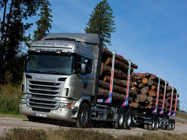 Scania R620 6x4 Highline Timber Truck, 2009–2013
