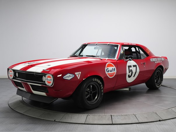 Chevrolet Camaro Z/28 Pre-production Trans Am Race Car, 1967