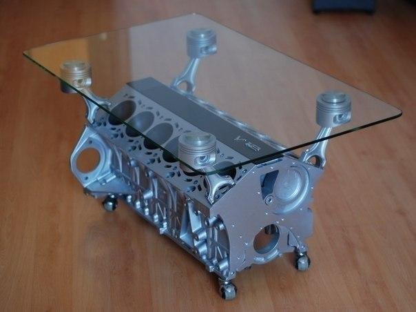 базе стол из мотора авто Степанова: