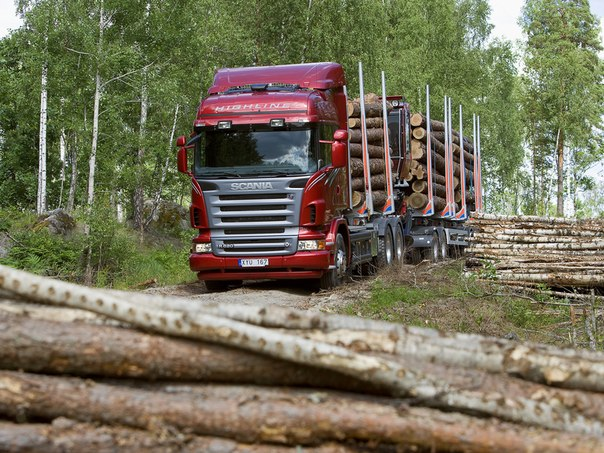 Scania R620 6x4 Highline Timber Truck, 2005–2009