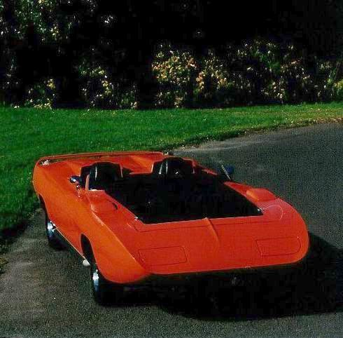Dodge Super Charger 1970 concept