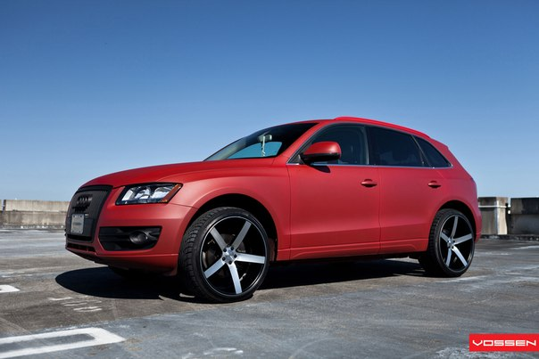 Audi Q5 on Vossen VVSCV3