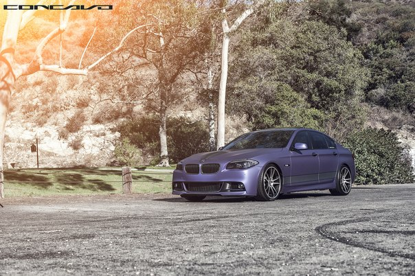 BMW F10 Matte Purple on CW-S5 Done by DBX