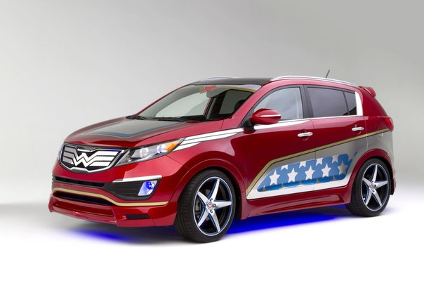 Kia Sportage Wonder Woman