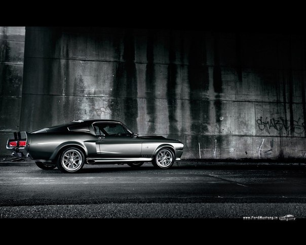 Mustang Shelby gt500 Eleanor (1967г)