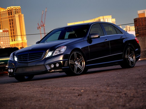 Mercedes-Benz E-Klasse Sports Line Black Bison Edition (W212) от WALD