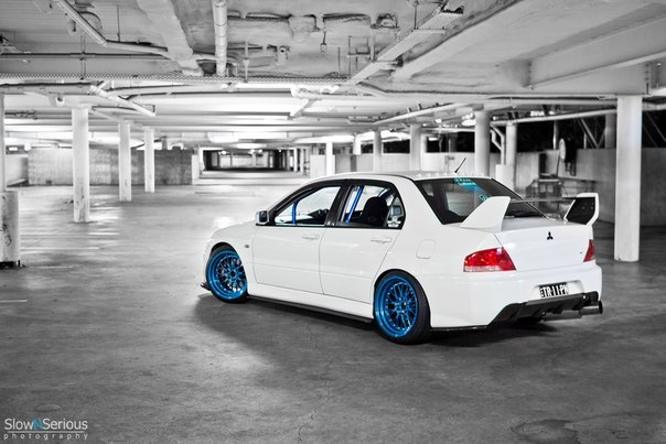 Mitsubishi Lancer Evolutions.
