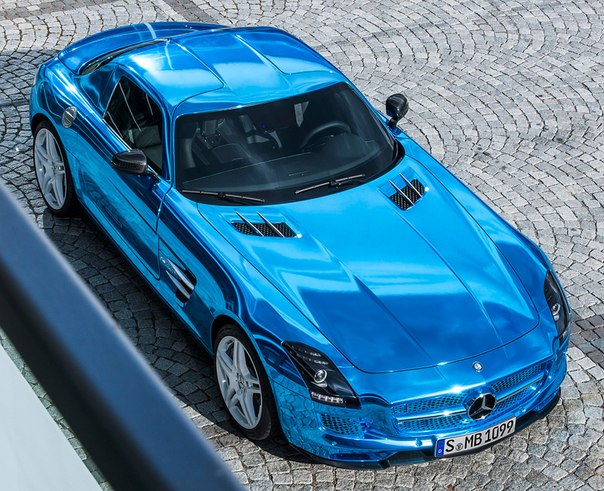 Mercedes-Benz SLS AMG Electric Drive, 2013