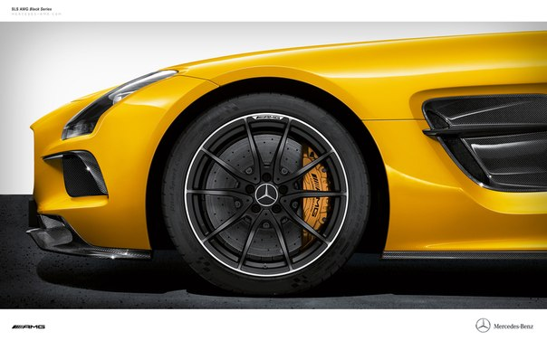 Mercedes-Benz SLS AMG Black Series.