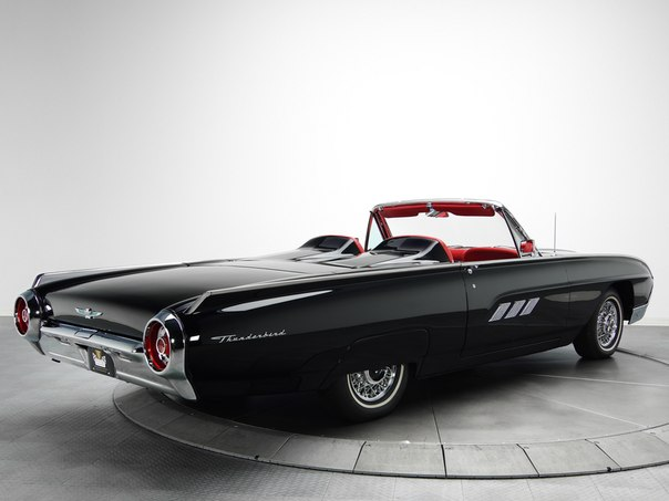 Ford Thunderbird Convertible Roadster (76B), 1963