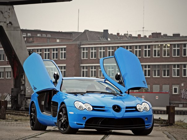 Mercedes-Benz SLR McLaren by CUT48 and Edo Competition (C199), 2013