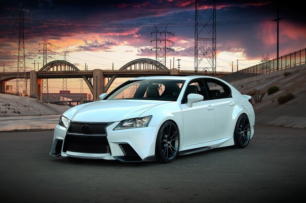Lexus Project GS F SPORT by Five Axis