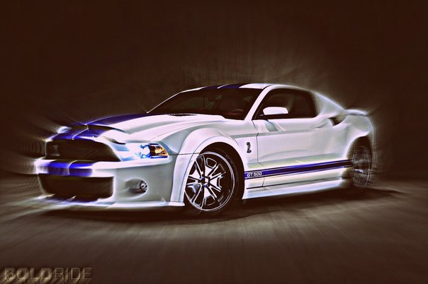 2012 Ford Mustang Shelby GT500 Galpin Wide Body