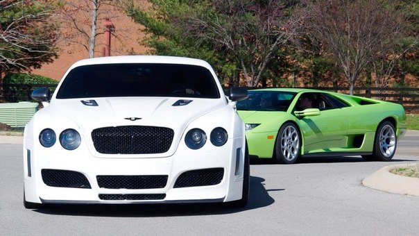 Bentley Continental & Lamborghini Diablo