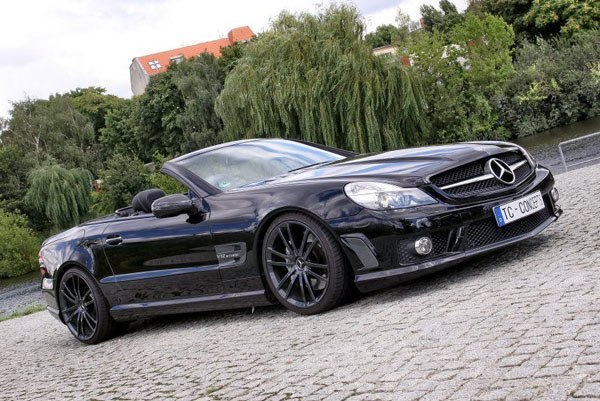 Mercedes SL65 AMG Titan Solution от TC Concepts