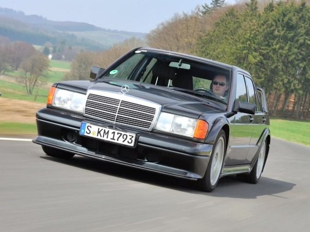 Mercedes-Benz 190 E 2.5-16 Evolution II (W201) '1990