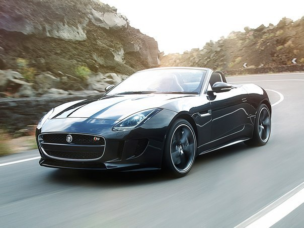 Jaguar F-Type V8 S UK-spec '2013.
