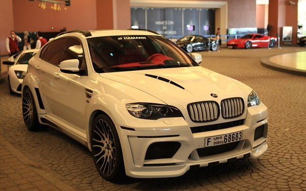 Hamann Tycoon Evo M based on BMW X6 M.
