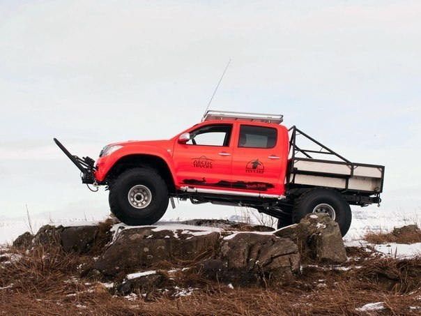 Arctic Trucks Toyota Hilux AT44 South Pole Expedition