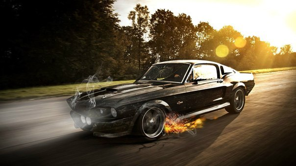 "Ford Mustang GT500 Shelby ""Eleanor"""