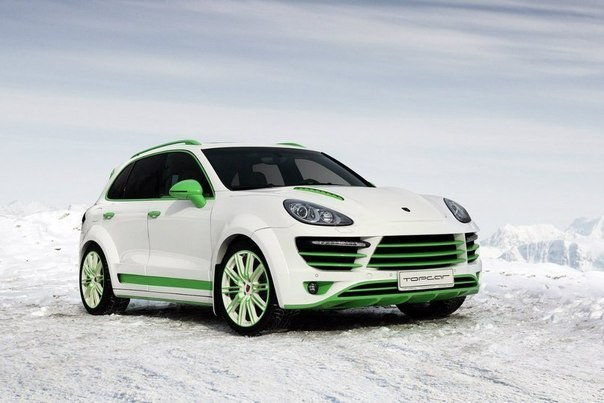 Cayenne Vantage 2 Green Horse Special Edition от TopCar
